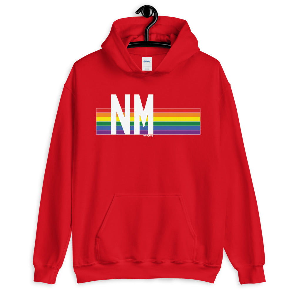 New Mexico Pride Retro Rainbow - Unisex Hoodie