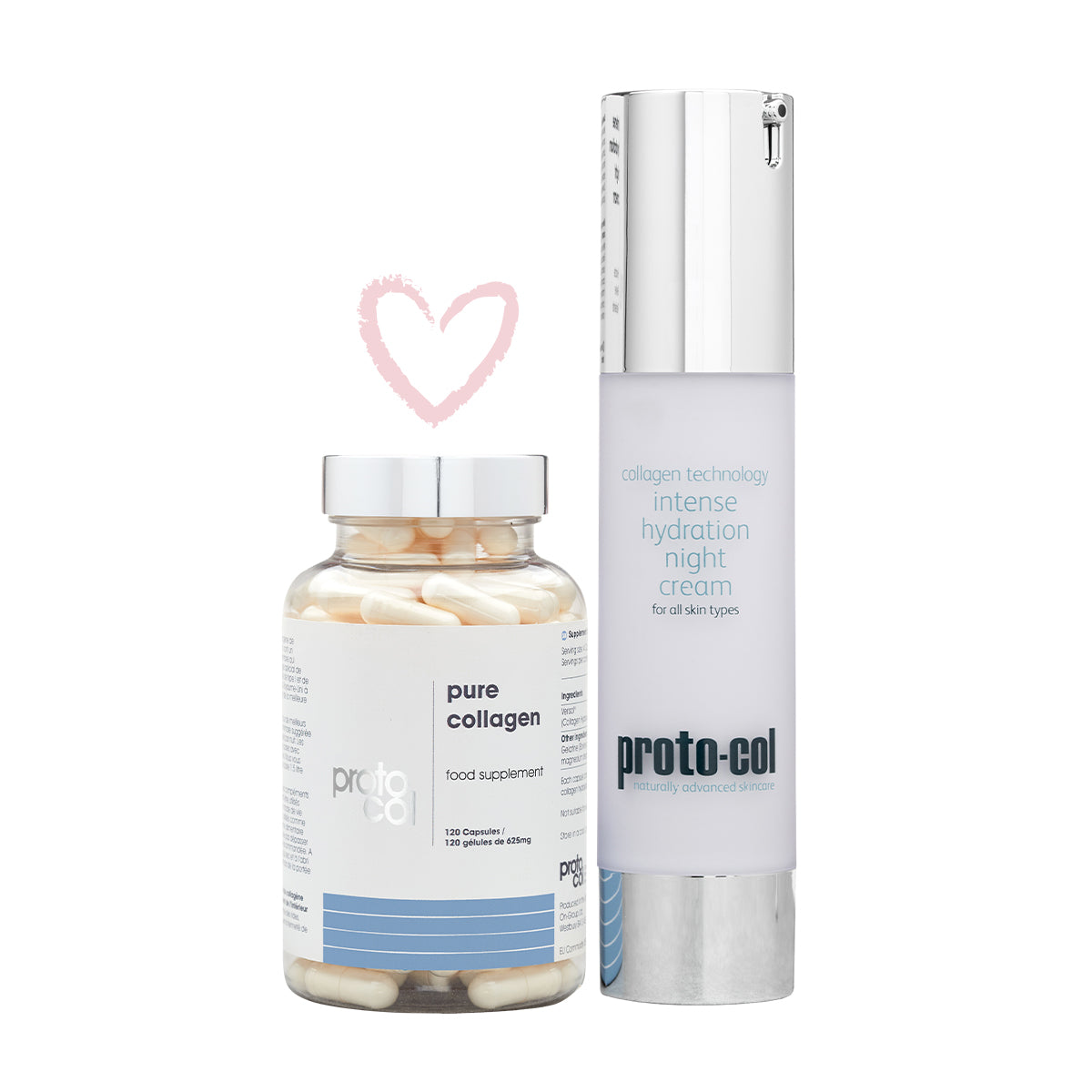 An image of Night time perfection (Pure Collagen 2500 + Night Cream 50ml)