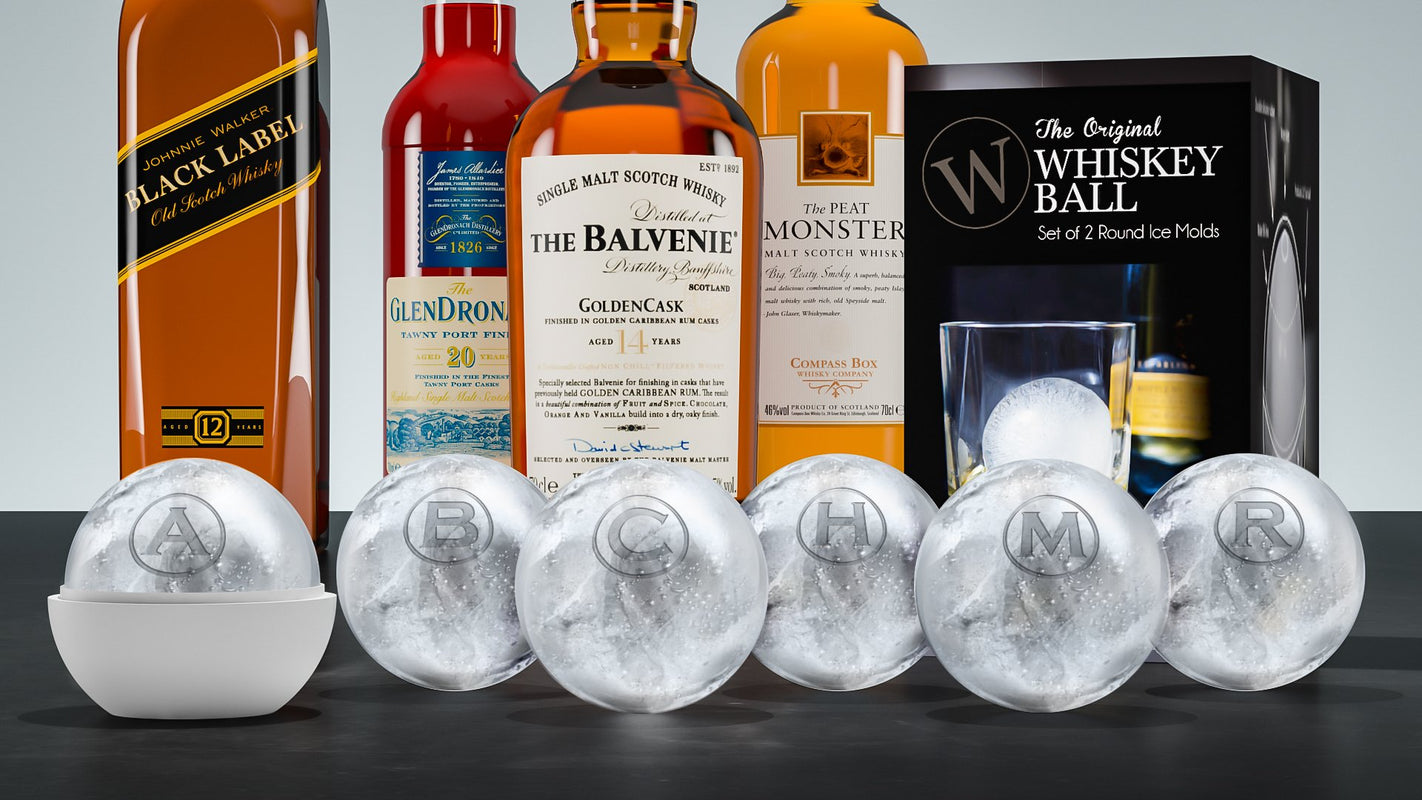 The Whiskey Ball WB-1 The Original Whiskey Ball-Jumbo Ice Ball Mold Clear