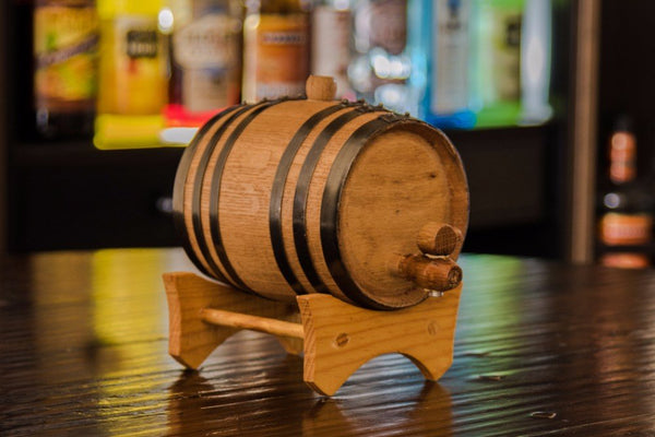1 liter American Oak Whiskey Aging Barrel