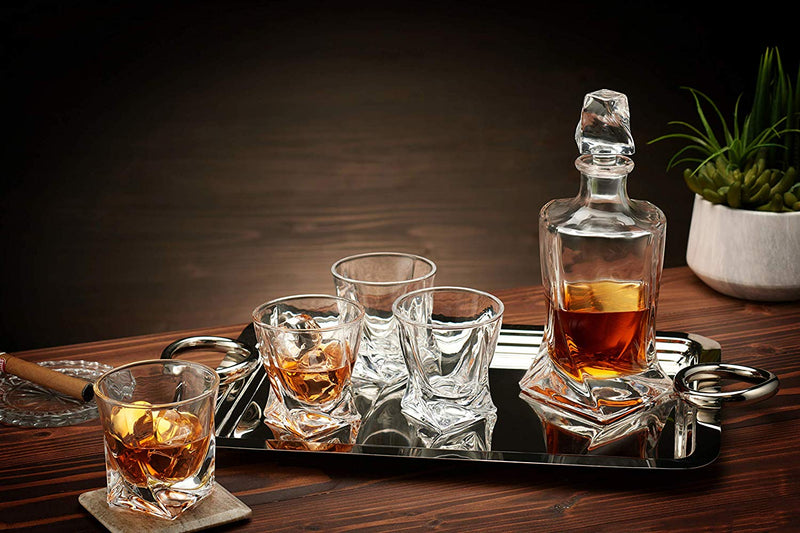 The Helix Decanter Set