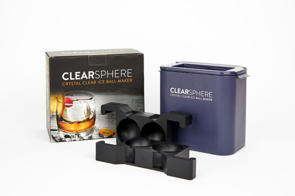 Clearsphere™ Crystal Clear Ice Ball Maker
