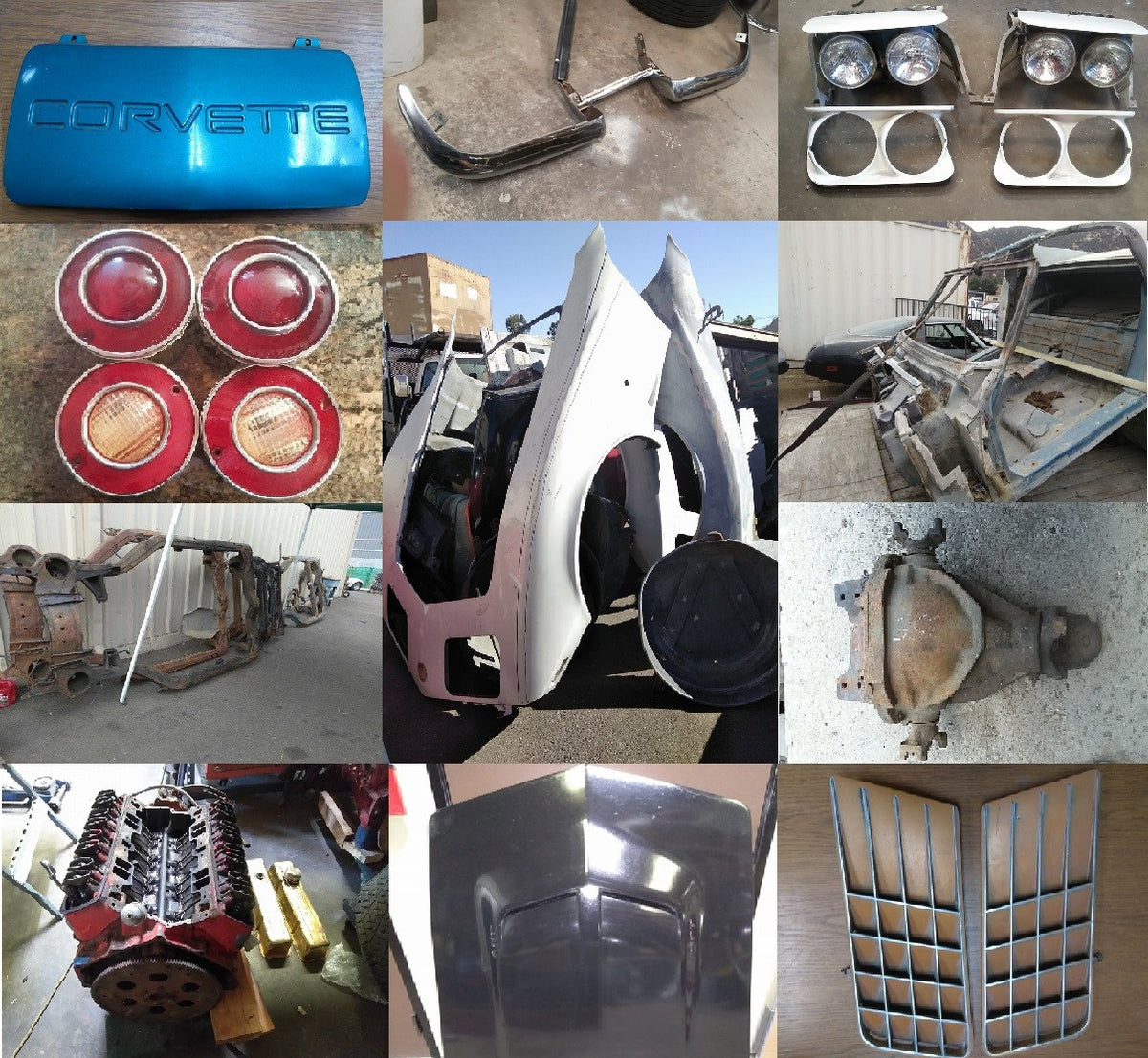 corvette parts, C3, C4, Classic Corvettes, corvette, classic muscle cars, 1968-1982 Corvette parts,