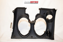 1969 Corvette LH (Driver) Lower Dash - Original - (No stitching) Black