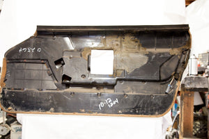 1990-1993 Corvette LH Door Panel - Original Brown/Black