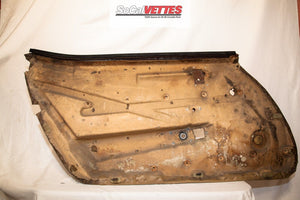 1970-1977 Corvette RH (Passenger) Door Panel - Original - Deluxe