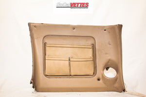 1970-1976 Corvette Rh Lower Dash - Original - tan