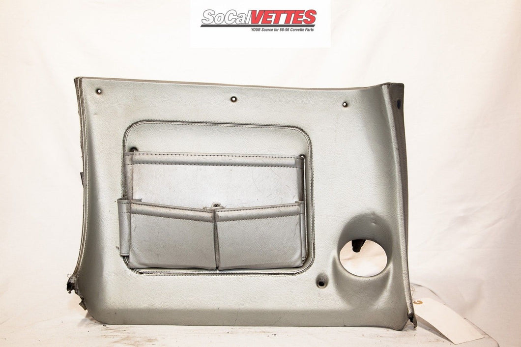 1970-1976 Corvette RH (Passenger) Lower Dash - Original - Silver