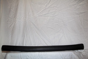 1970-1972 Corvette Rear Window Trim - Original , Black
