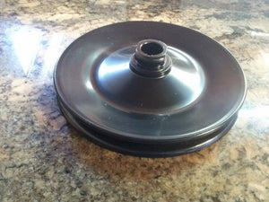 "1963 - 1974 Corvette ""509"" Power Steering Pump Pulley w/ METAL Lock Nut"