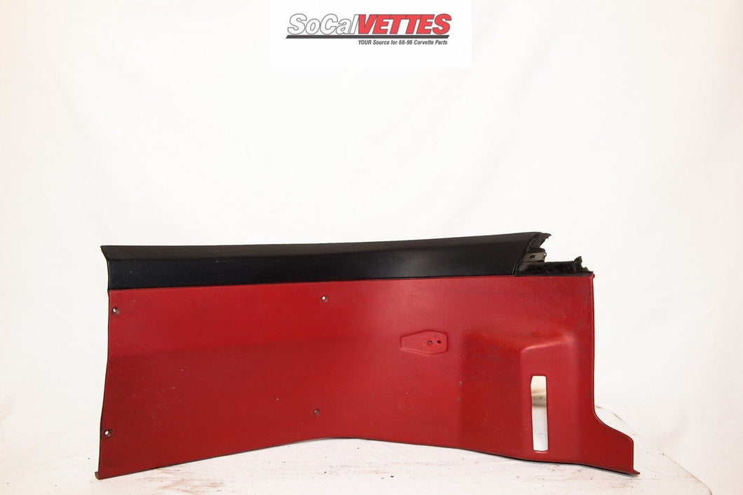1978-1982 Corvette RH Rear Roof Panel Original Red