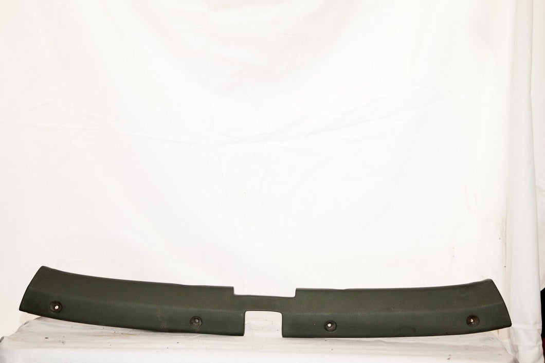 1969-1975 Corvette Original Convertible Header Molding - Dark Green