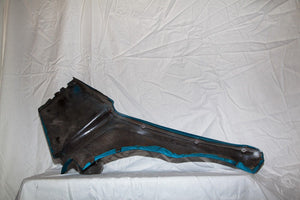 1969-1973 Corvette Coupe RH Interior Quarter Panel - Original - Bright Blue