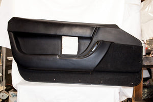 1990-1993 Corvette RH Door Panel - Original Black