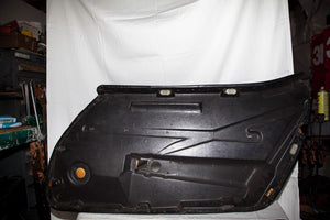 1968 Corvette LH (Driver) Black Door Panel