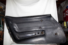 1970-1977 Corvette LH (Driver) Black Door Panel (Manual Window) Dated Oct 1973