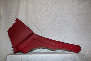 1969-1973 Corvette LH (Driver) Interior Quarter Panel - Original Red