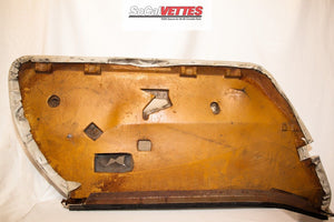 1978-1982 Corvette RH (Passenger) Door Panel Tan - Original