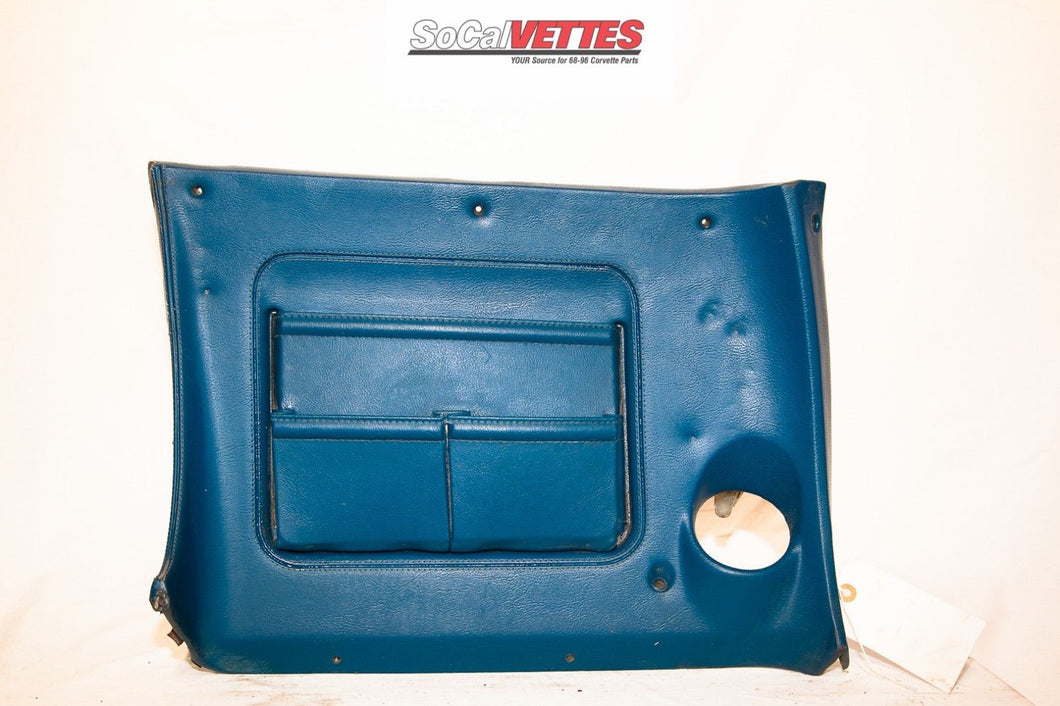 1970-1976 Corvette Rh Lower Dash - Original - Blue