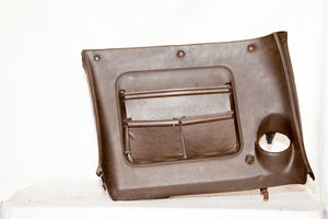 1970-1976 Corvette RH (Passenger) Lower Dash w/ Map Pocket - Dark Brown