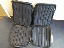 1968 - 1969 Corvette Black Vinyl Seat Covers