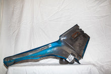 1968 Corvette Coupe LH (Driver) Interior Quarter Panel - Original Bright Blue