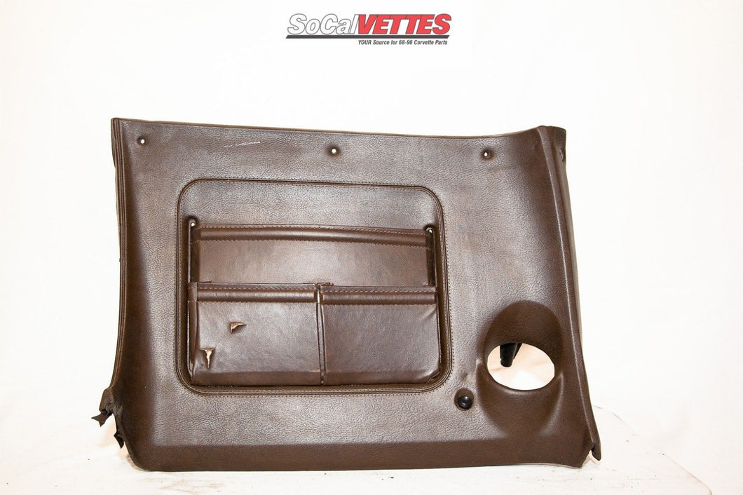 1970-1976 Corvette RH (Passenger) Lower Dash - Original - Dark Brown
