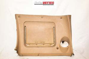 1970-1976 Corvette Rh Lower Dash w/o Map Pocket - Original - tan