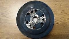 1975 - 1982 Corvette OEM 2 - Groove Deep Crank Shaft Crankshaft Pulley