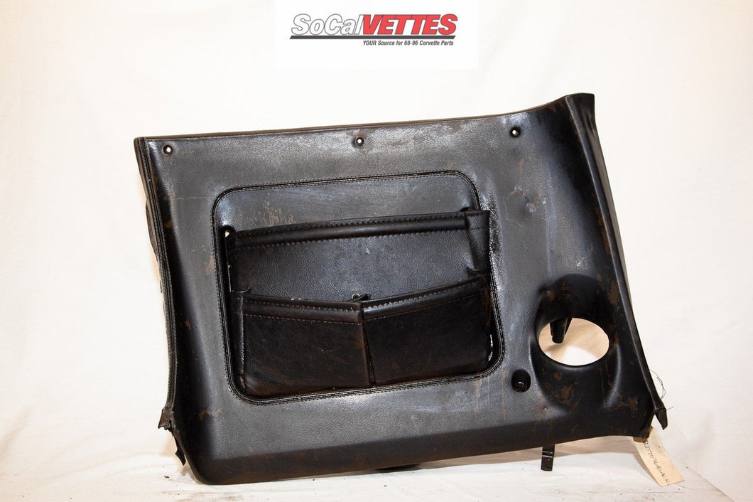 1970-1977 Corvette RH (Passenger) Lower Dash - Original - 9750557 Black