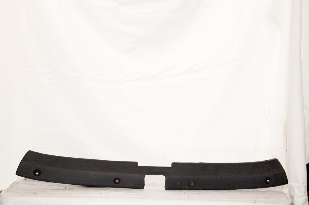 1969-1975 Corvette Original Convertible Header Molding - Black