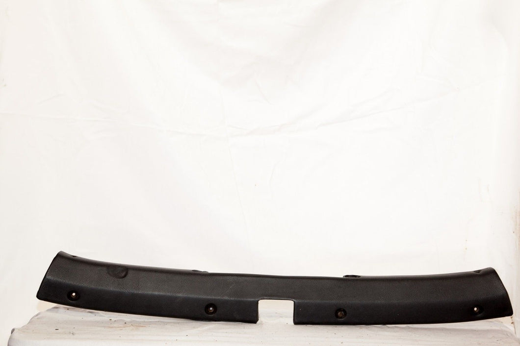 1969-1975 Corvette Header Molding - Original - Black
