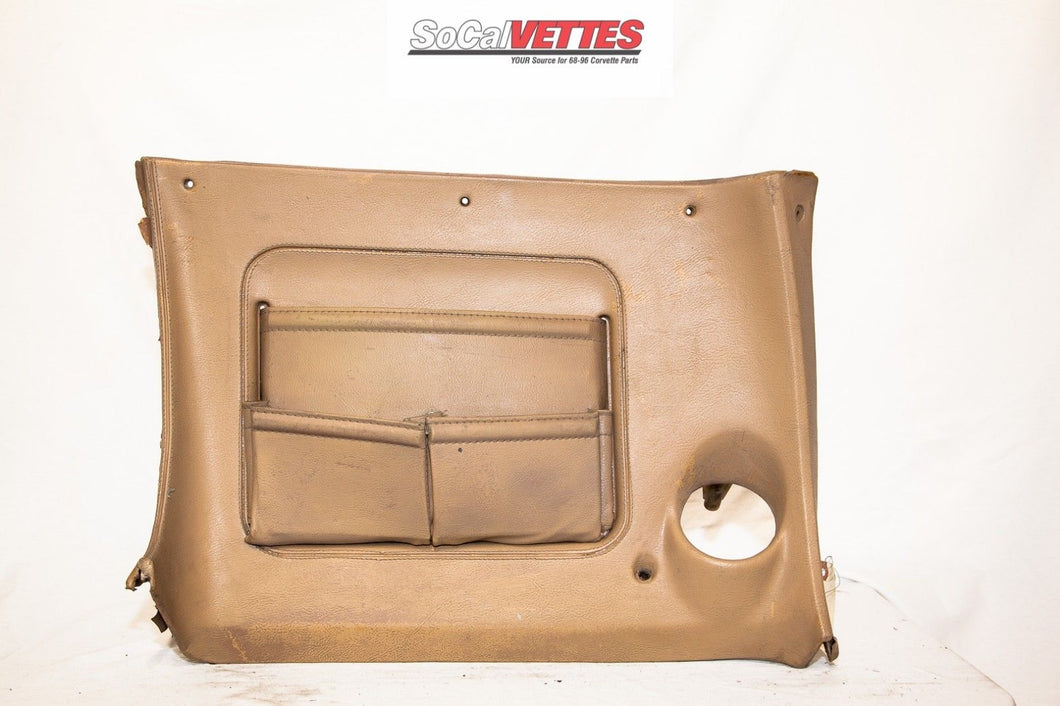 1970-1976 Corvette RH (Passenger) Lower Dash - Original - Tan