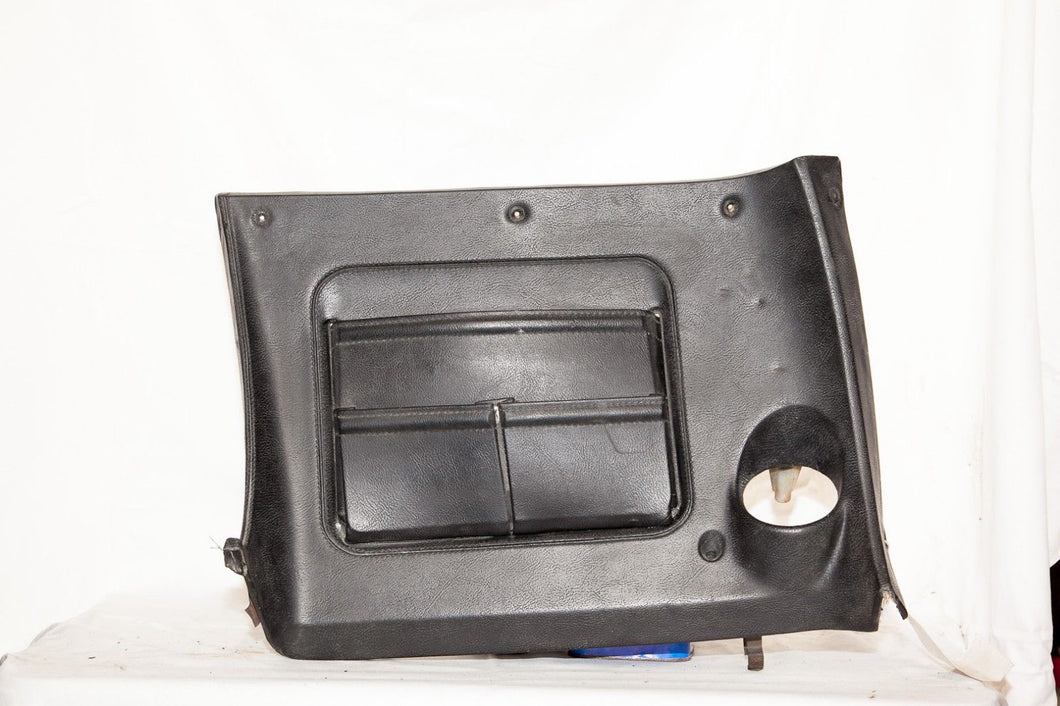 1970-1976 Corvette RH Lower Dash w/ Map Pocket - Original Black
