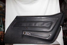 1969 Corvette RH (Passenger) Black Door Panel