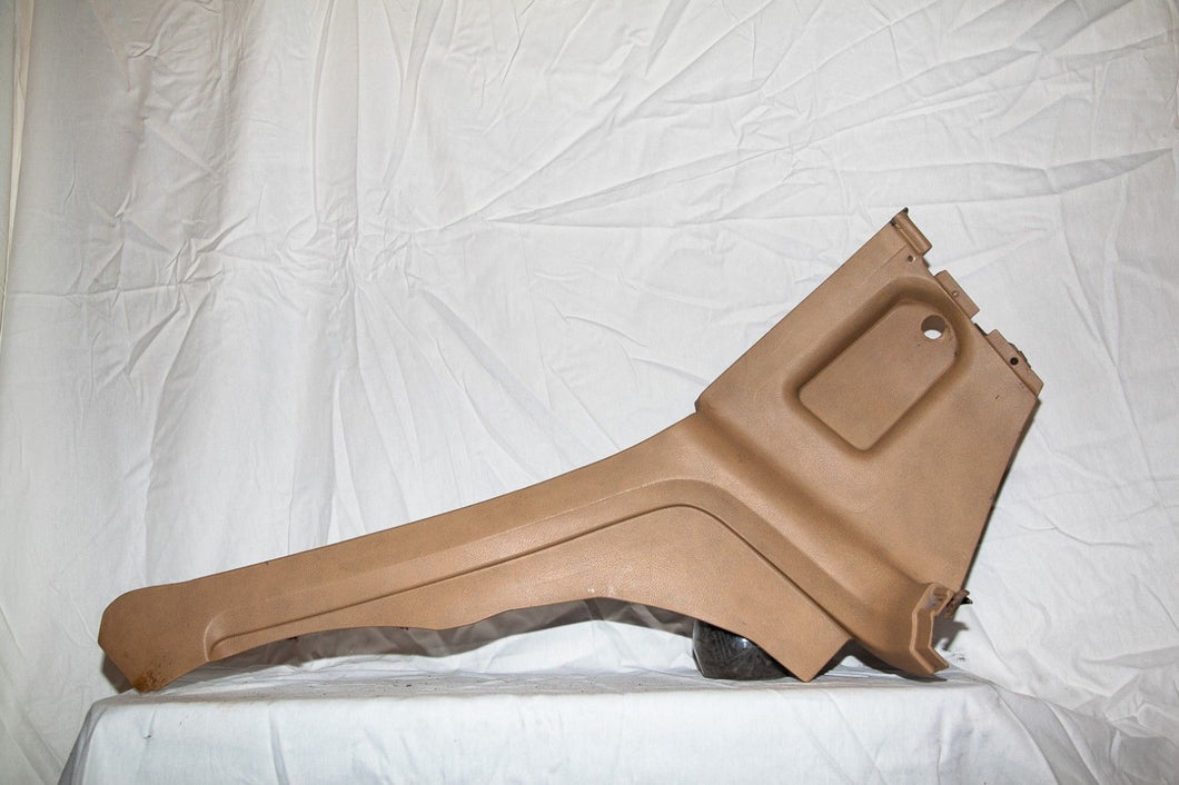 1974-1977 Corvette RH(Passenger) Interior Quarter Trim Panel - Original Tan