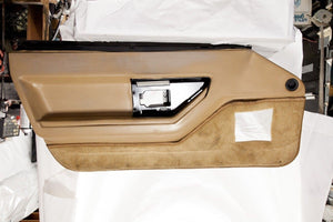 1984-1989 Corvette Door Panel - Original Tan