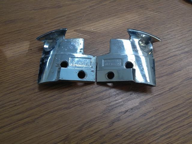 1969-1977 Corvette LH & RH Rear T-top Striker Plates