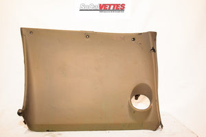 1968 Corvette Rh Lower Dash - Original - Beige/ Tan