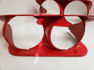 1973-1982 Corvette Fiberglass Headlight Bezels