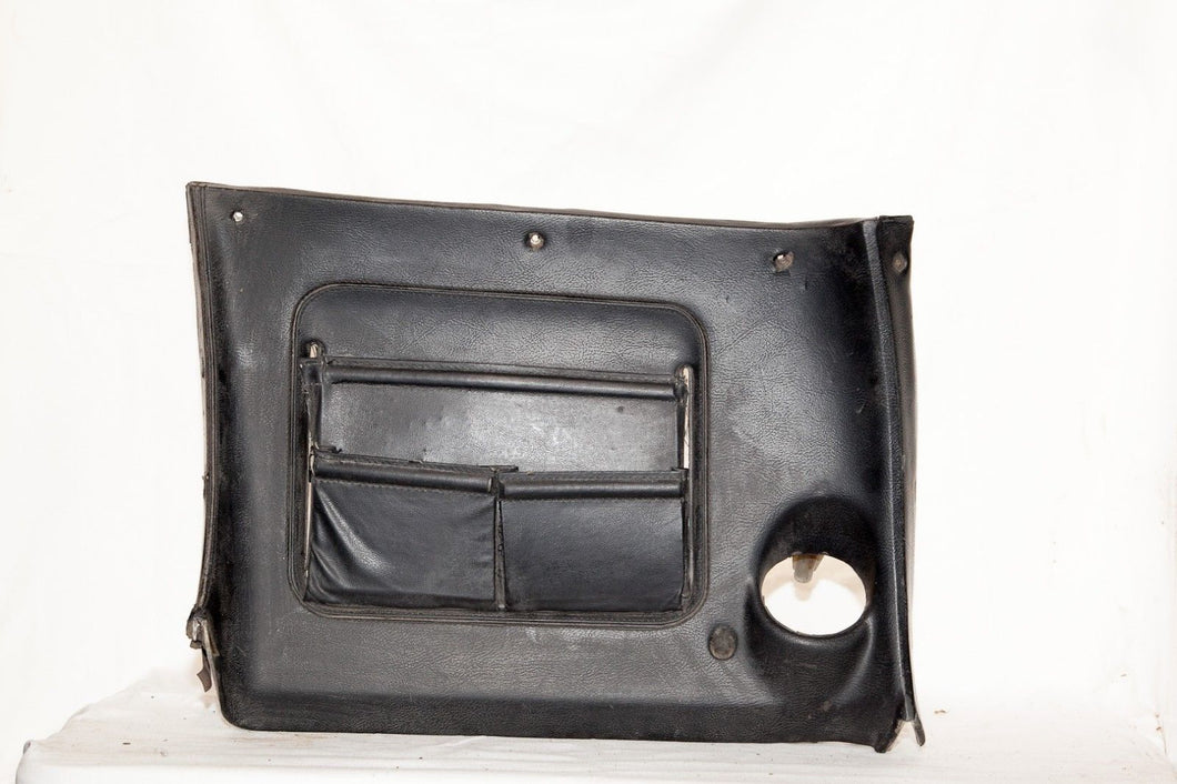 1970-1976 RH Lower Dash w/ Map Pocket Original - Black