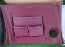 1970 - 1976 Corvette Passenger Side Lower Dash in Red or Oxblood