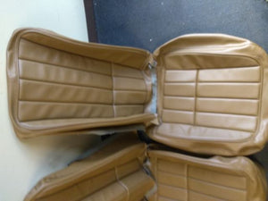 1968 - 1969 Corvette Saddle Vinyl Seat Covers