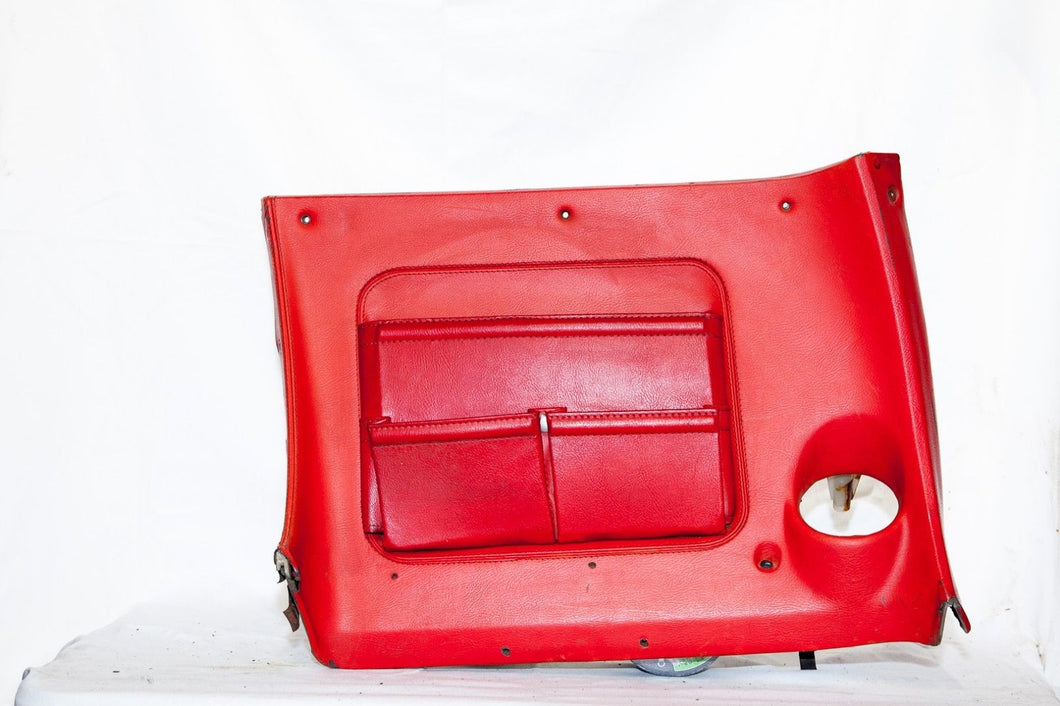 1970-1976 Corvette RH Lower Dash - Original - Red