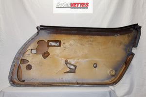 1978-1982 Corvette LH Door Panel - Original Grey