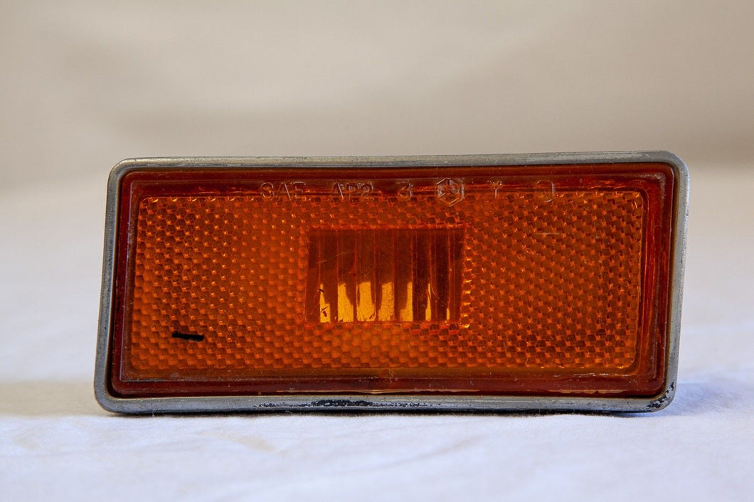 1973-1979 Corvette Front RH Amber Marker Light GM# 362956