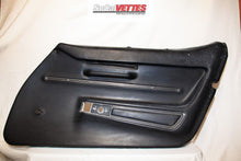 1968 Corvette RH (Passenger) Door Panel (Manual Window) Black