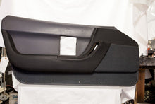 1990-1993 Corvette LH Door Panel - Original Dark Grey/Black
