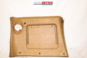 1970-1976 Corvette Rh Lower Dash w/o Map Pocket - Original - Medium Saddle