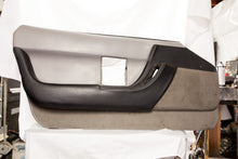 1990-1993 Corvette LH Door Panel - Original Grey/Black